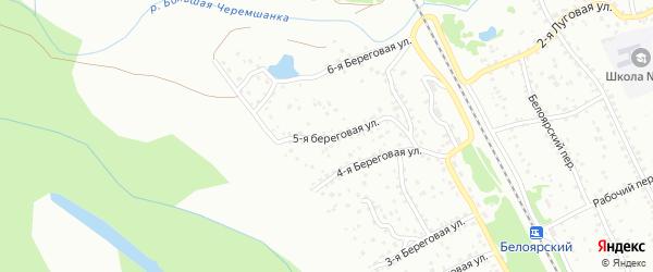 5-я Береговая улица на карте Новоалтайска с номерами домов