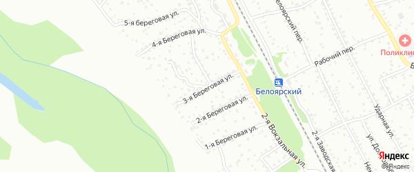 3-я Береговая улица на карте Новоалтайска с номерами домов