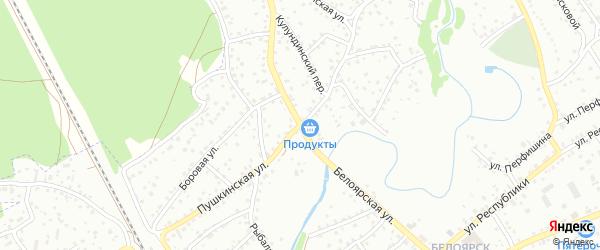 Пушкинская улица на карте Новоалтайска с номерами домов