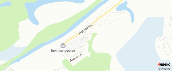 Лесная улица на карте Новоалтайска с номерами домов
