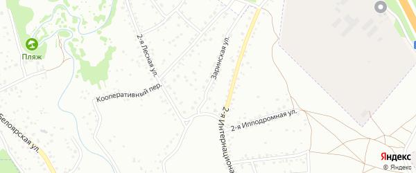 Заринская улица на карте Новоалтайска с номерами домов
