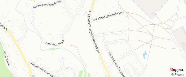 Интернациональная улица на карте Новоалтайска с номерами домов