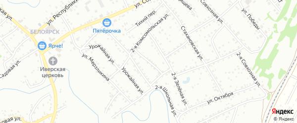 Улица Новоселов на карте Новоалтайска с номерами домов