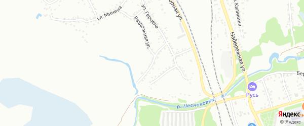 Алтайская улица на карте Новоалтайска с номерами домов