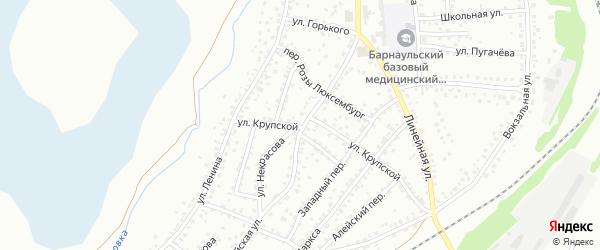 Майская улица на карте Новоалтайска с номерами домов