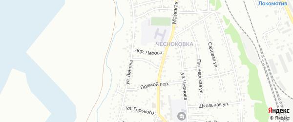 Улица С.Орджоникидзе на карте Новоалтайска с номерами домов