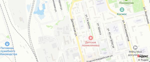 Деповская улица на карте Новоалтайска с номерами домов