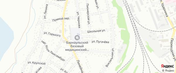 Улица М.Гризодубовой на карте Новоалтайска с номерами домов