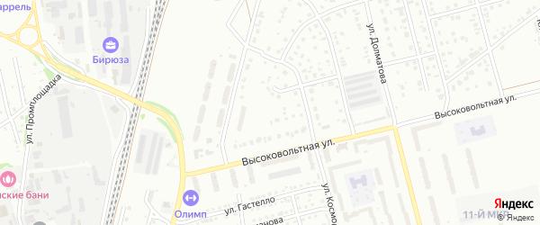 1-й квартал на карте Северного микрорайона с номерами домов
