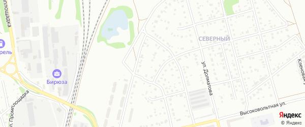 2-й квартал на карте Северного микрорайона с номерами домов