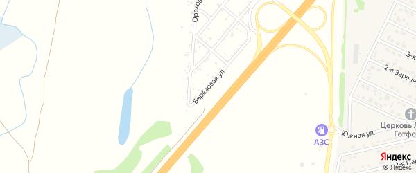 Ореховая улица на карте садового некоммерческого товарищества Энергетика с номерами домов