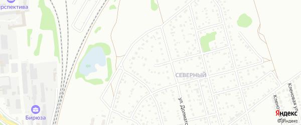 4-й квартал на карте Северного микрорайона с номерами домов