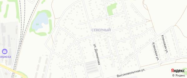 Улица Долматова на карте Новоалтайска с номерами домов