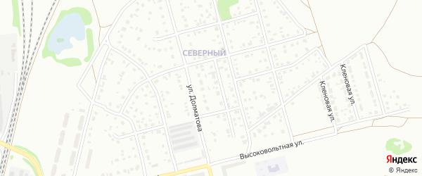 7-й квартал на карте Северного микрорайона с номерами домов