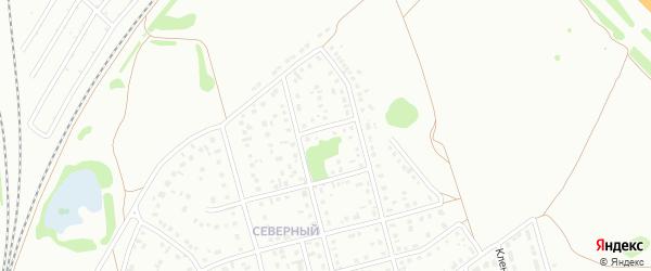 8-й квартал на карте Северного микрорайона с номерами домов