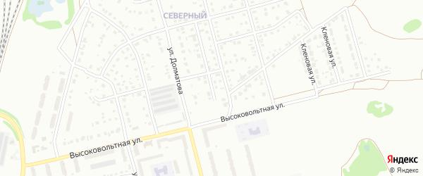 Улица Белоусовой на карте Новоалтайска с номерами домов