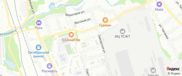 Улица Лермонтова на карте Новоалтайска с номерами домов