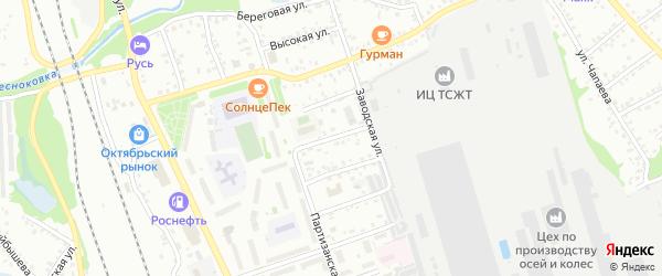 Улица Войкова на карте Новоалтайска с номерами домов