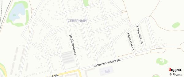 9-й квартал на карте Северного микрорайона с номерами домов