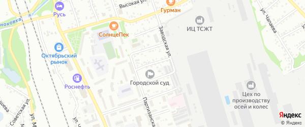 Улица Ефремова на карте Новоалтайска с номерами домов