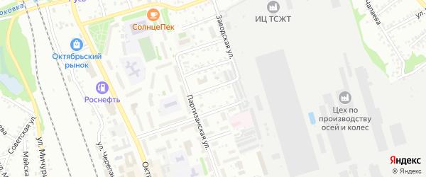 Красноармейская улица на карте Новоалтайска с номерами домов