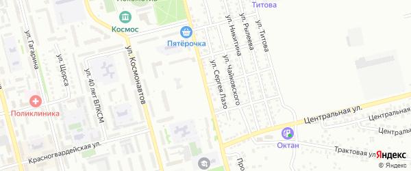 Улица Анатолия на карте Новоалтайска с номерами домов