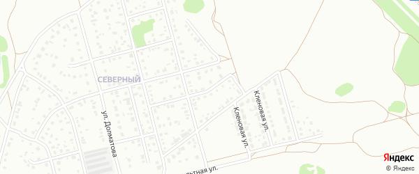 11-й квартал на карте Северного микрорайона с номерами домов