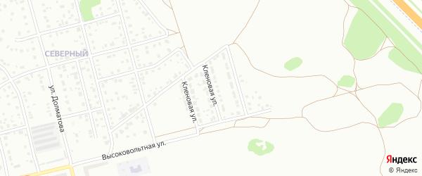 Кленовая улица на карте Новоалтайска с номерами домов