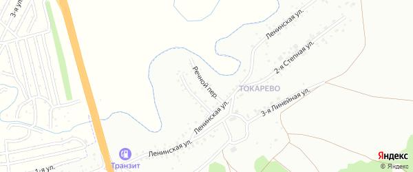 Речной переулок на карте Новоалтайска с номерами домов