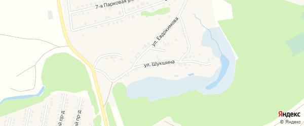 Садовая улица на карте села Фирсово с номерами домов