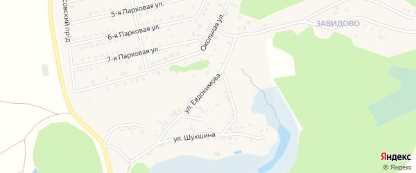 Новая улица на карте села Фирсово с номерами домов