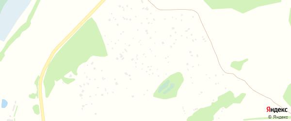 Лесная улица на карте садового некоммерческого товарищества Лесные поляны с номерами домов