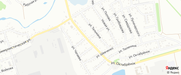Улица 18 Партсъезда на карте Новоалтайска с номерами домов