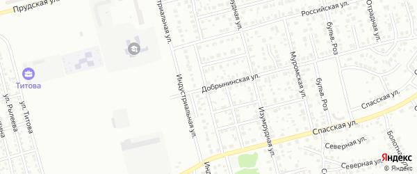 Добрынинская улица на карте Новоалтайска с номерами домов