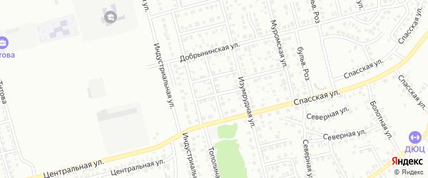 Сиреневая улица на карте Новоалтайска с номерами домов