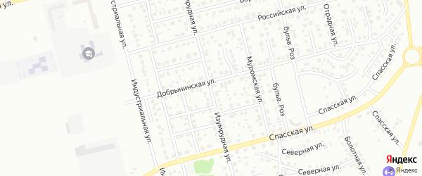 Изумрудная улица на карте Новоалтайска с номерами домов