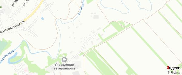 Улица Плодопитомник на карте Новоалтайска с номерами домов