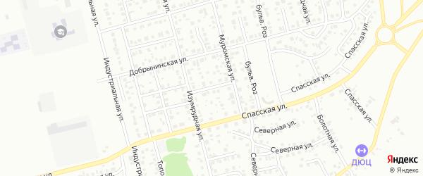 Улица Высоцкого на карте Новоалтайска с номерами домов