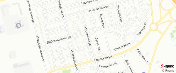 Муромская улица на карте Новоалтайска с номерами домов