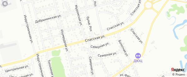 Спасская улица на карте Новоалтайска с номерами домов