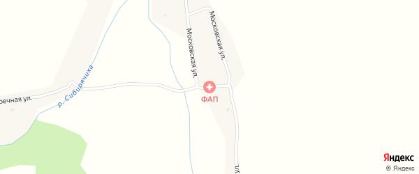 Московская улица на карте села Александровки с номерами домов