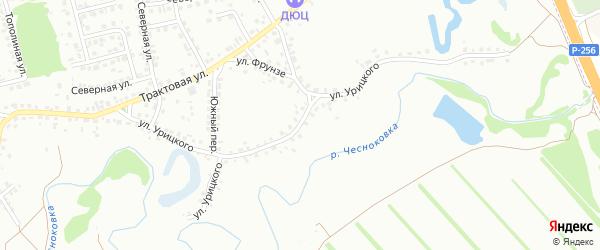 Улица Урицкого на карте Новоалтайска с номерами домов