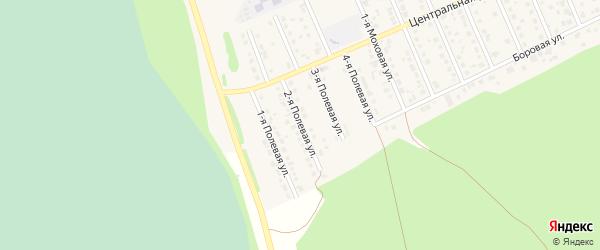 2-я Полевая улица на карте села Фирсово с номерами домов