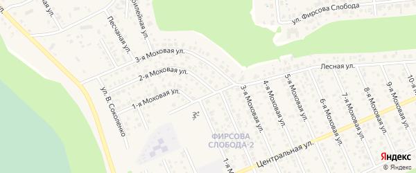 2-я улица на карте садового некоммерческого товарищества Трансмашевца-2 с номерами домов