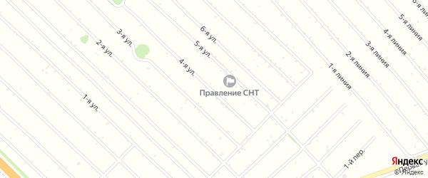 1 квартал 4-й переулок на карте садового некоммерческого товарищества Феникса с номерами домов