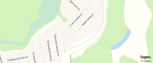 Улица Новаторов на карте села Санниково с номерами домов