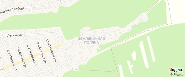 Микрорайон Земляничная поляна на карте села Фирсово с номерами домов