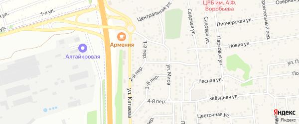 2 квартал 2-й переулок на карте садового некоммерческого товарищества Феникса с номерами домов