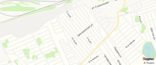 СТ Мечта на карте Первомайского района с номерами домов