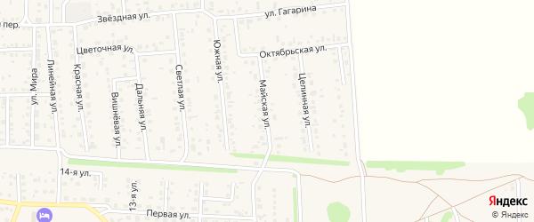 Майская улица на карте села Березовки с номерами домов